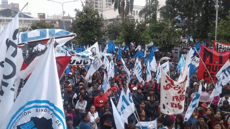 El Frente Amplio hace paro y marcha contra la Reforma Previsional