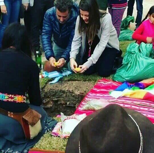La inauguración de la Apacheta del éxodo jujeño