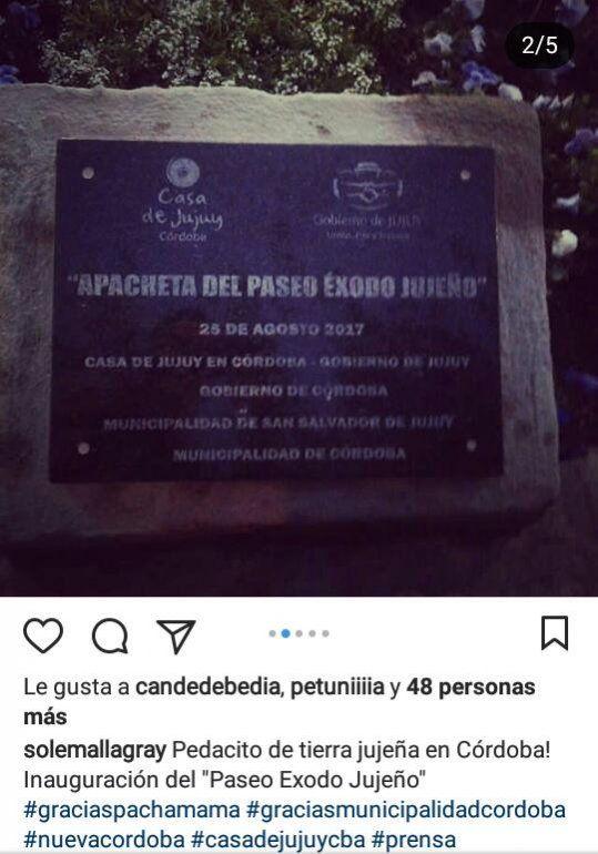 El espacio fue cedido por la Municipalidad de Córdoba