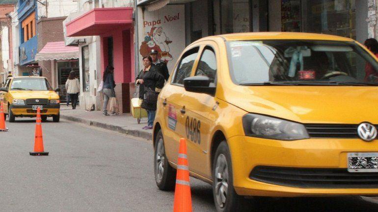 Taxis - Foto de archivo