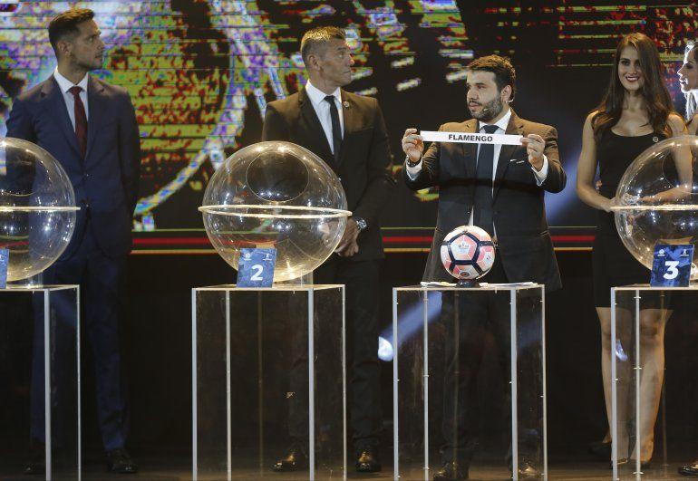 Se sortearon los grupos de la Libertadores y los cruces de la Sudamericana