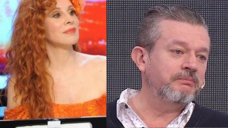 Nacha Guevara muy exigente con el director del Bailando
