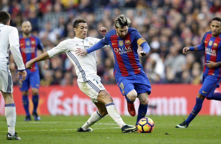 Un clásico picante: Lionel Messi  y Cristiano Ronaldo definen al goleador del año