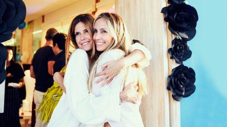 Las fotos de Isabel Macedo y Gisela Dulko en la dulce espera