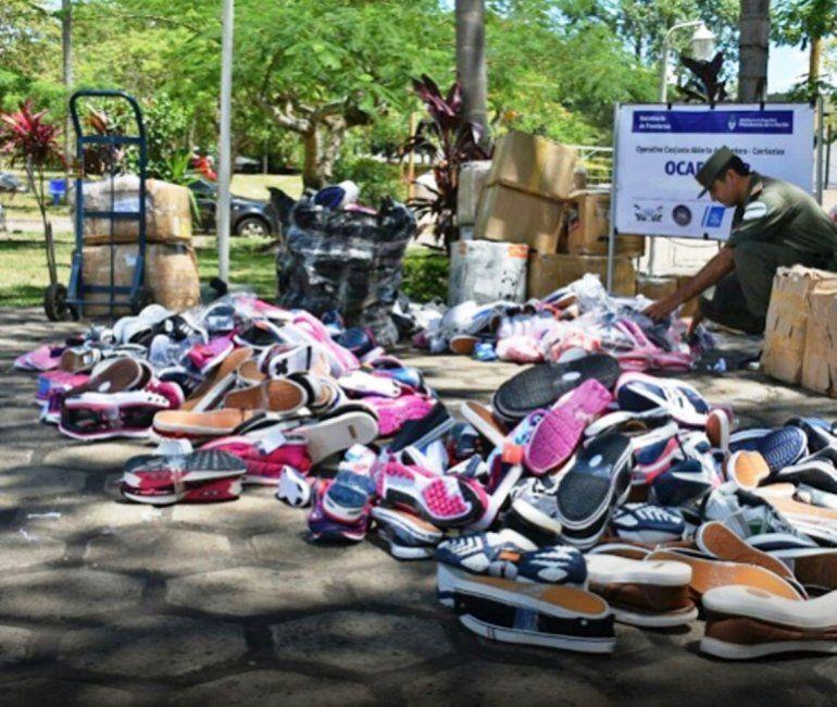 Secuestran mercadería ilegal procedente de Perico valuada en más de 2 millones de pesos