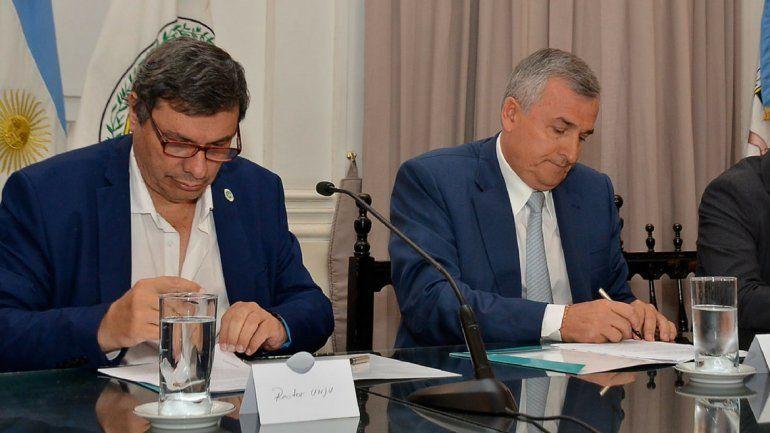 Firmaron un convenio para desarrollar un proyecto en torno al Cabildo histórico