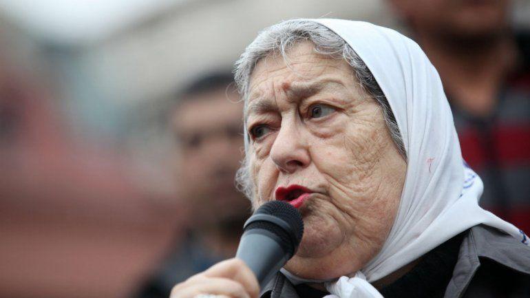Hebe de Bonafini alentó la muerte de Margaritra Barrientos hay que hacer boleta