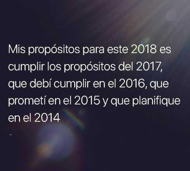 Los mejores memes para recibir el Año Nuevo 2018