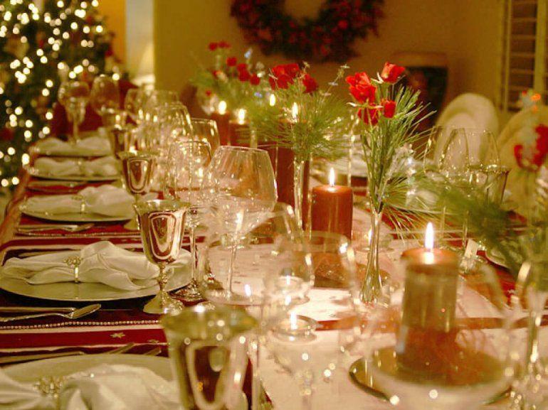 Para la noche de año nuevo ¿mesa adentro o mesa afuera?