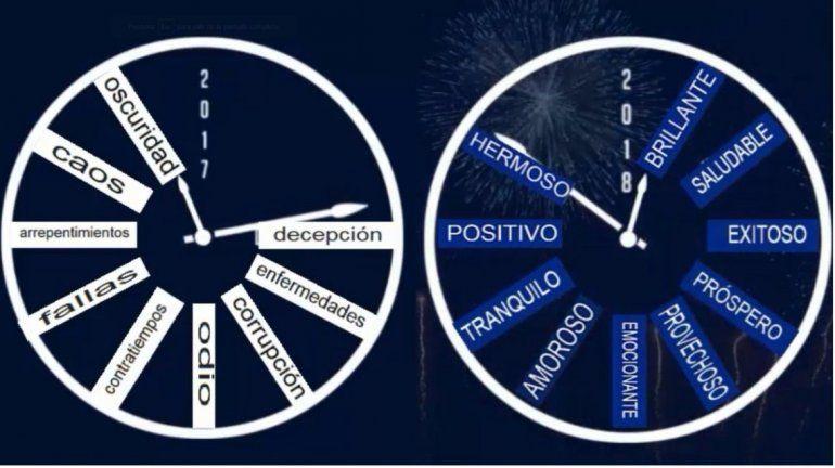 El mensaje de Año Nuevo que se hizo viral en las redes