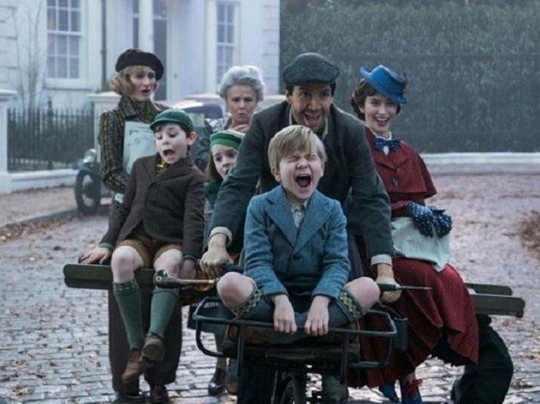 Vas a revivir tu infancia con el divertido estreno de Mary Poppins Returns