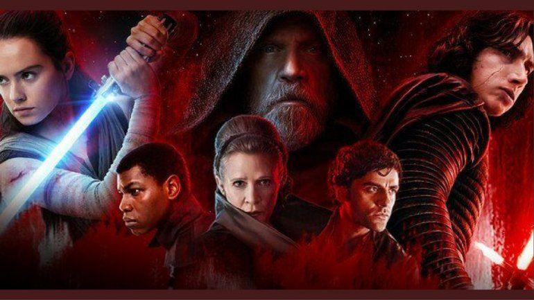 The Last Jedi es una de las películas con mas recaudación en el 2017