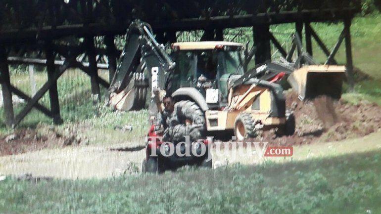 Realizaron excavaciones en la causa que investiga a Sala por lavado de dinero