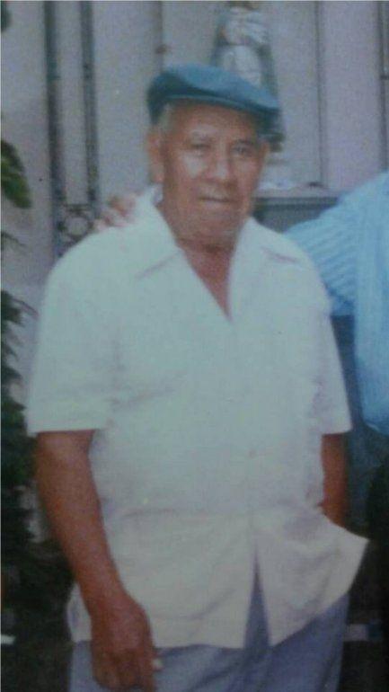 Buscamos a don Alfaro, tiene 87 años y es de Palpalá