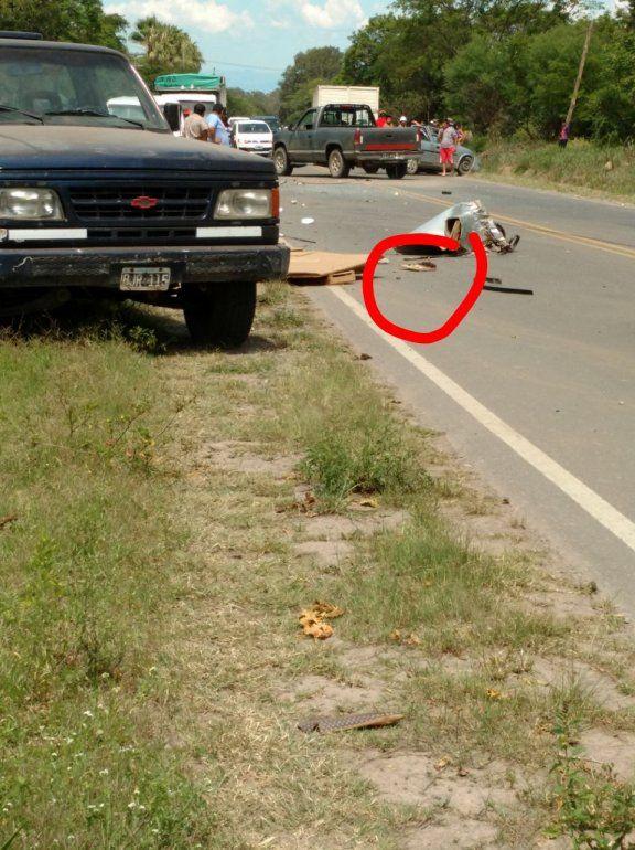 Impactante accidente fatal sobre ruta 47 se cobra una vida de forma brutal