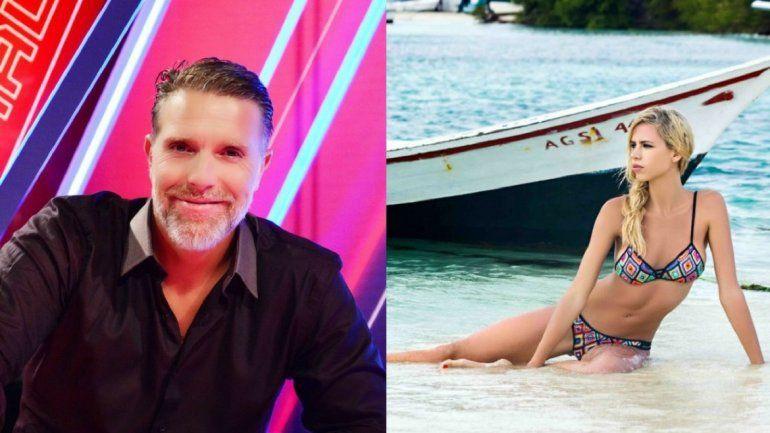 Alejandro Fantino de vacaciones con su nueva novia, en Punta