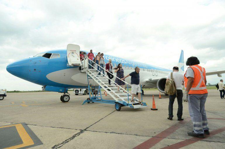Conexión aérea Jujuy-San Pablo: Llegaron los primeros turistas brasileros