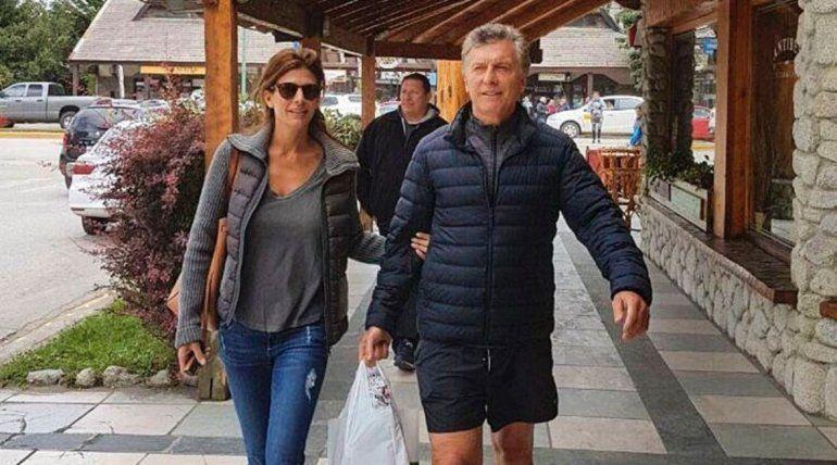 Mauricio Macri y Juliana Awada le compraron el regalo de Reyes a Antonia en Villa La Angostura