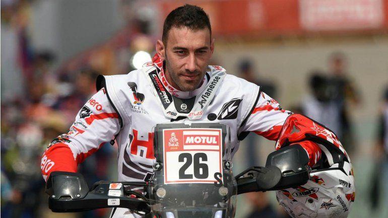 Espectacular accidente del portugués Joaquim Rodrígues en motos