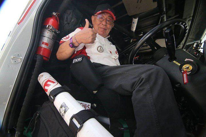 Quién es el Abuelo del Dakar, el piloto japonés de 76 años que se prepara para la carrera