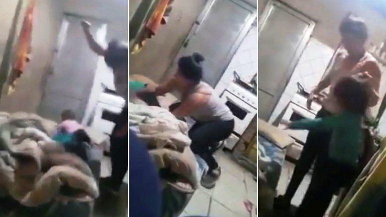 Video: Bahía Blanca conmovida por el maltrato de una madre a su bebé
