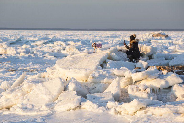 Impactantes imágenes del paso de la ola polar que azota Estados Unidos