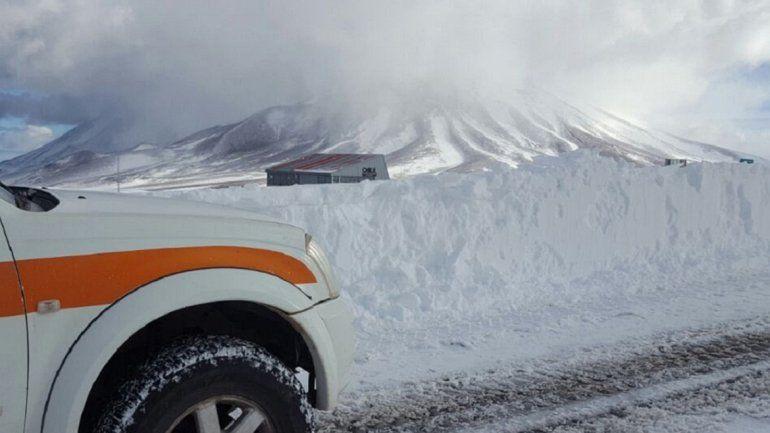 Habilitaron el Paso de Jama tras estar cerrado por la presencia de gran cantidad de nieve