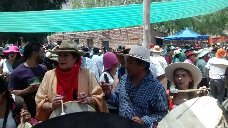 Purmamarca: Caja, erke y chicha en el Encuentro de Copleros
