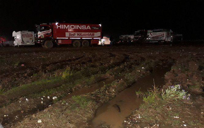 Se suspendió la etapa 9 Tupiza–Salta por fuertes lluvias en Bolivia