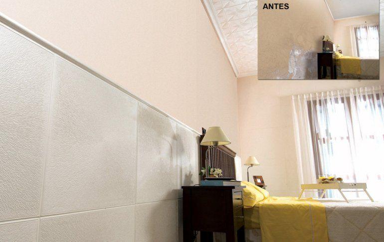 Despedite de la humedad: llegó una manera simple y estética de liberarte de las manchas en tu pared