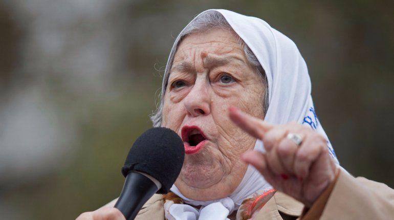 Hebe de Bonafini: Quiero que Macri se caiga a pedazos