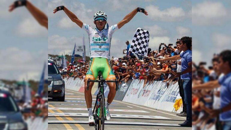 El jujeño Najar mantuvo la punta de la Vuelta de San Juan