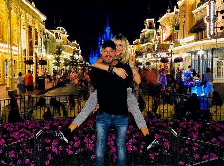 Las súper vacaciones de Marcelo Tinelli en Disney y Miami
