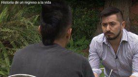 Vivió 8 años preso del paco y libera día a día: conocé a Facundo y su historia