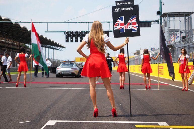 La Fórmula 1 le dice chau a las azafatas de las parrillas