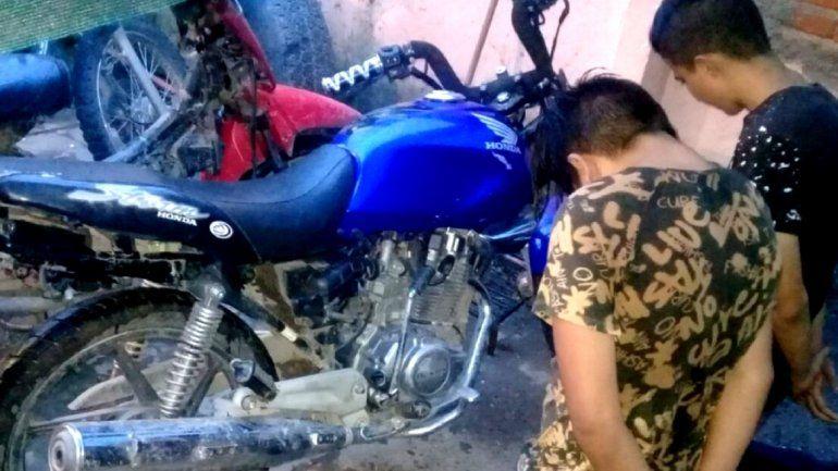 Capturaron a motochorros que robaban motos a punta de armas de fuego