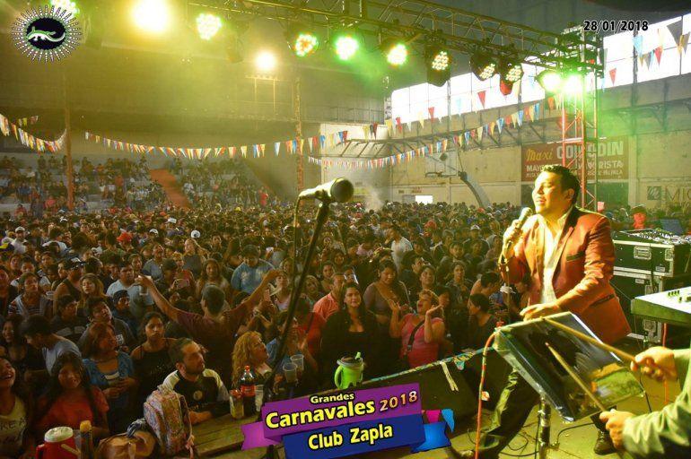 Después de 20 años vuelven los carnavales al club Altos Hornos Zapla