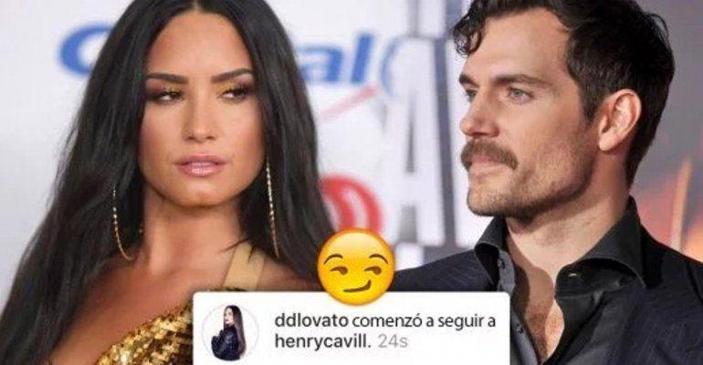 Demi Lovado coquetea con Henry Cavill y las redes sociales estallan en reacciones