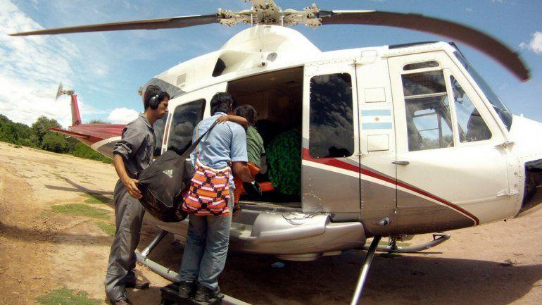 Temporal en Salta: Tristes imágenes de los evacuados por la crecida del río