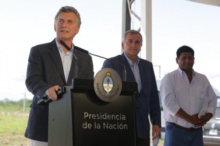 Macri en Jujuy: Se acabó la espera de muchos años pidiendo la zona franca
