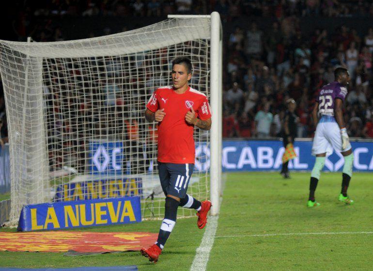 Independiente ganó con lo justo ante Colón