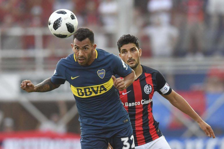 San Lorenzo pudo aguantar a Boca y el campeonato sigue abierto
