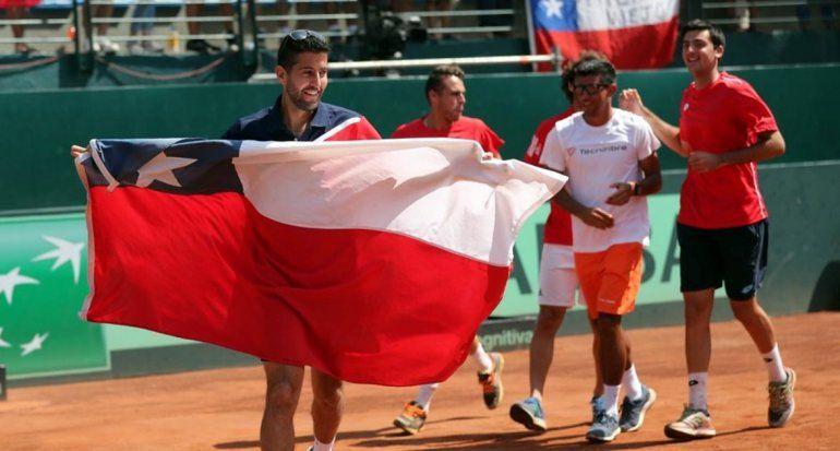 Copa Davis: Argentina recibirá a Chile por la semifinal de la zona americana