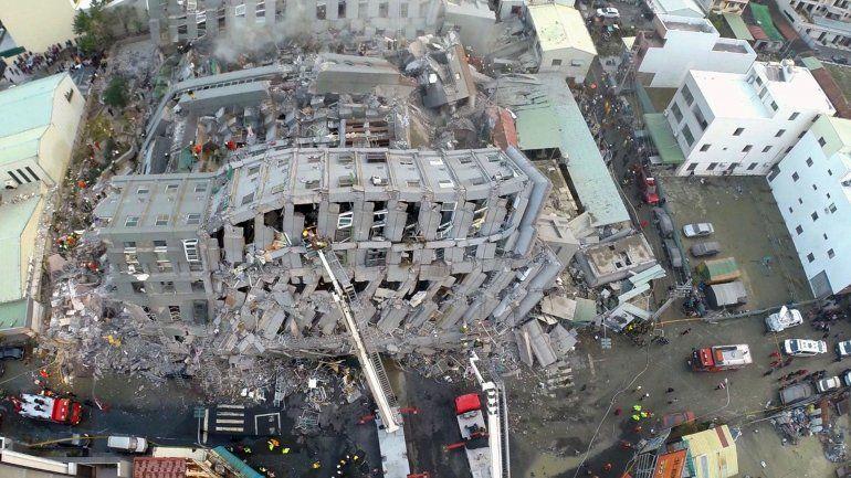 Un terremoto de 6,4 en Taiwán deja al menos dos muertos y más de 100 heridos