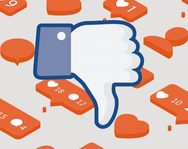Facebook prueba un botón de voto negativo para ocultar publicaciones inapropiadas