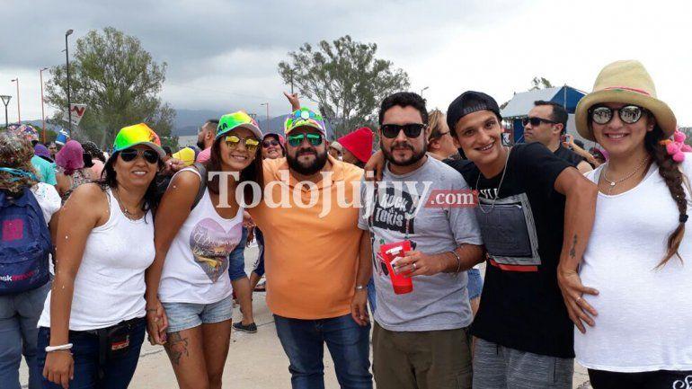Disfrutando el carnaval en Alto Padilla