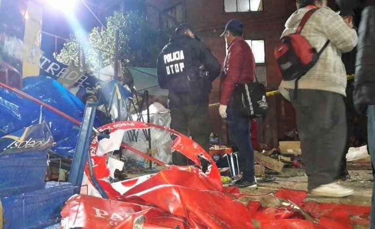 Tragedia en Oruro: al menos 6 personas mueren por la explosión de una garrafa