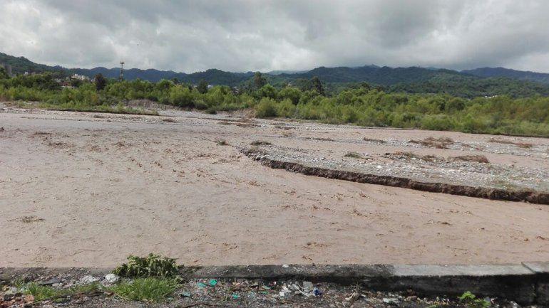 El Río Grande a la altura de Lozano