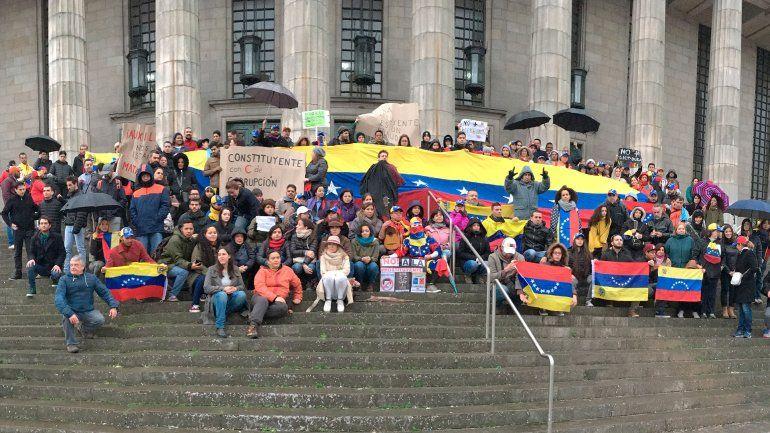 La llegada de venezolanos a la Argentina creció un 1.600% durante 2017