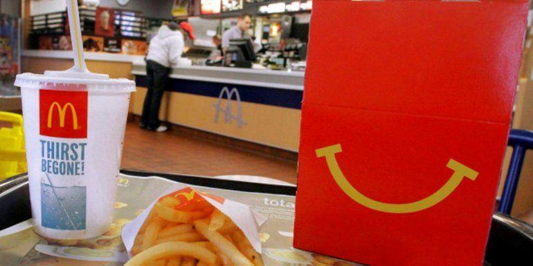 McDonalds anunció un cambio drástico en su menú infantil para reducir la obesidad en niños